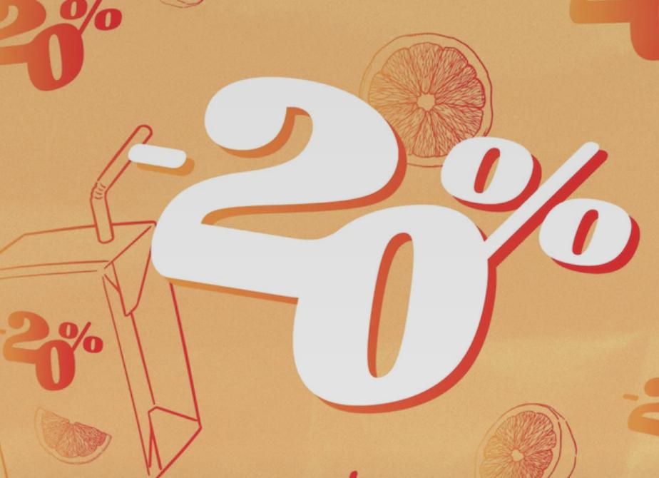 20% Rabatt auf Alle bereits reduzierten Artikel im Sale bei ABOUT YOU