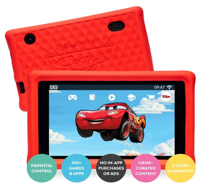 Pebble Gear Cars Tablet