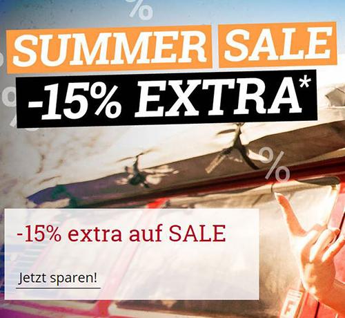 15% Extrarabatt auf Sale Artikel im EMP Onlineshop