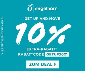 10% Extra-Rabatt auf über 1.200 reduzierte Sportartikel im Engelhorn Sports Shop
