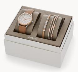 Fossil Set aus Damenuhr Modern Sophisticate Multifunktion und Armbändern für nur 48,30 Euro