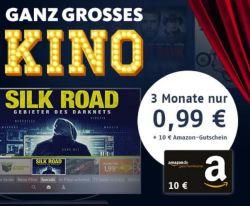 Kracher! 3 Monate freenet Video mit über 1.000 Filme und TV-Serien für 99 Cent testen + 10,- Euro Amazon-Gutschein