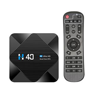 H40 Android 10.0 TV Box (Quad-core, 2GB, 16GB) für nur 29,98 Euro