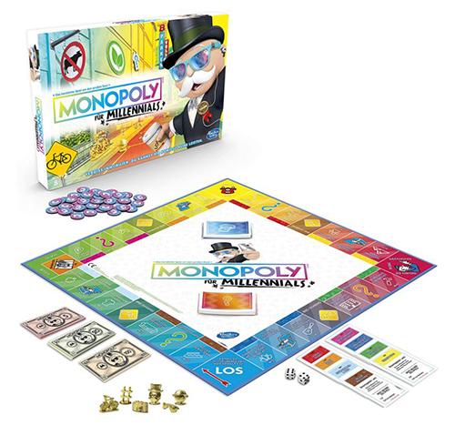 Hasbro E4989100 Monopoly Millennials Partyspiel für nur 14,60 Euro (statt 24,- Euro)