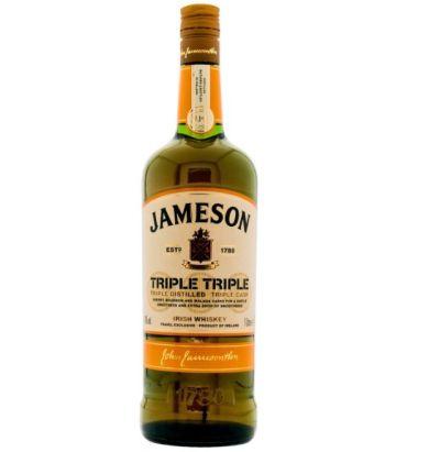 Jameson Triple Triple (40%, 1l) für nur 25,90 Euro inkl. Versand