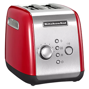 KITCHENAID 5KMT221EER Toaster Rot (1100 Watt, 2 Schlitze) für nur 74,99€ inkl. Versand