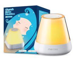 Meross LED-Nachttischlampe mit Einschlafsounds und Alexa Support für 27,19 Euro inkl. Prime-Versand