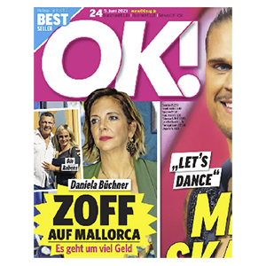 3 Monate (13 Ausgaben) der Zeitschrift OK! für 36,40€ – als Prämie: 35€ Amazon-Gutschein