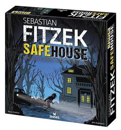 Sebastian Fitzek – SafeHouse Brettspiel (ab 8 Jahren, 2-4 Spieler) ab 19,99 Euro inkl. Versand (statt 25,- Euro)