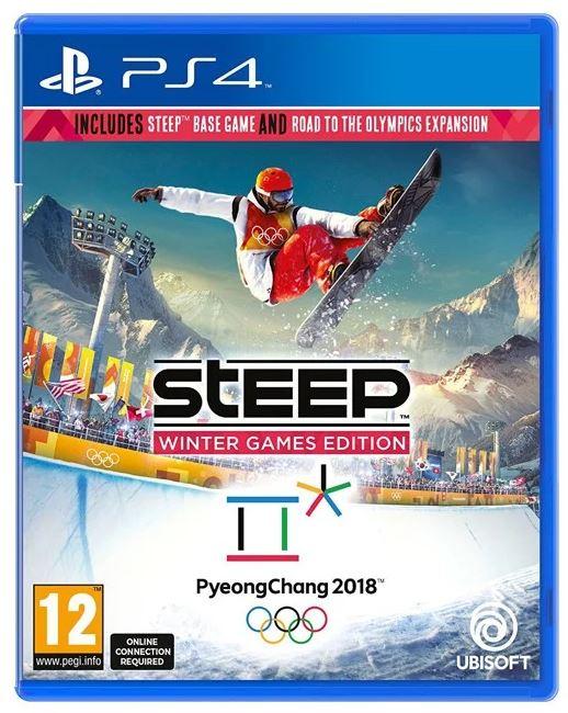 Steep Winter Games [PS4] – Game of the Year (Import Version mit dt. Sprache) für nur 11,99 Euro inkl. Versand (statt 21,- Euro)