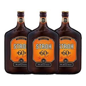 3 Flaschen (3 L) Stroh Original 60% für nur 48,33€ inkl. Versand