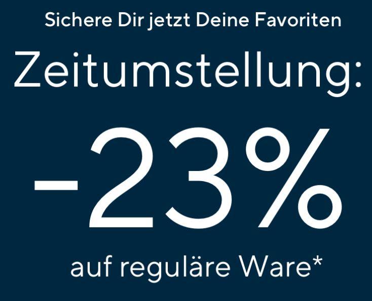23% Rabatt auf alle nicht reduzierten Artikel im Tom Tailor Onlineshop