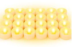 Top! 24-Stück BAONUOR LED Teelichter für 5,99 Euro statt 11,99 Euro