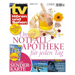 6 Monate (26 Ausgaben) TV Hören und Sehen für 65€ – als Prämie: 65€ BestChoice-Gutschein