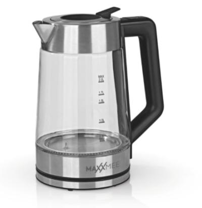 Maxxmee Glas-Wasserkocher (Smart Deckel 2200W) für nur 34,94 Euro inkl. Versand