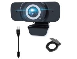 EasyULT W7 1080P Webcam mit Mikrofon für 14,59 Euro statt 24,59 Euro