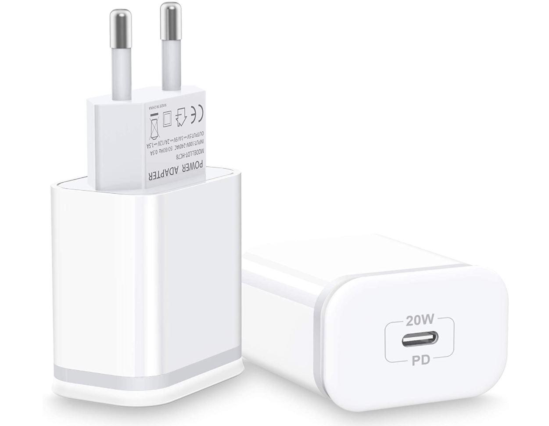 AXIULOO 20W USB C Ladegerät im 2er Pack für nur 10,99€ bei Prime-Versand