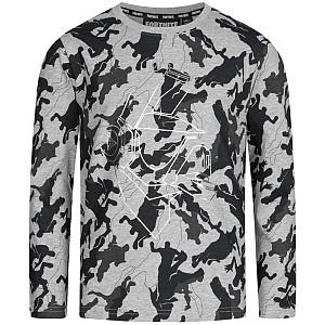 Fortnite Camouflage DJ Yonder Kinder Langarmshirt