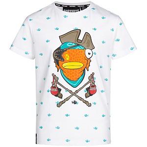 Fortnite Fischstäbchen Kinder T-Shirt