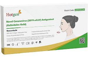 10x Hotgen Novel Coronavirus (2019-nCoV) Antigen-Schnelltest für 35€ – Nur 3,50€ pro Test!