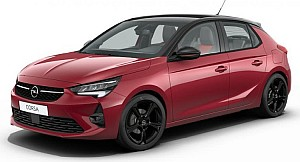Privatleasing: Opel Corsa GS Line mit 100 PS in Chili-rot für 117,50€ mtl.