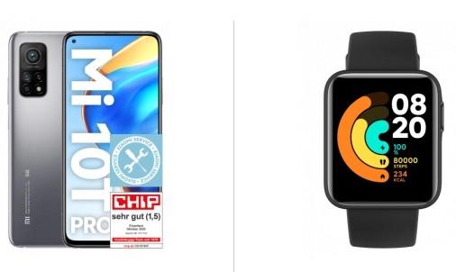 Xiaomi Mi 10T Pro 128GB + Mi Watch Lite für 149 Euro + Vodafone Allnet-Flat mit 5GB LTE für 14,99 Euro mtl.