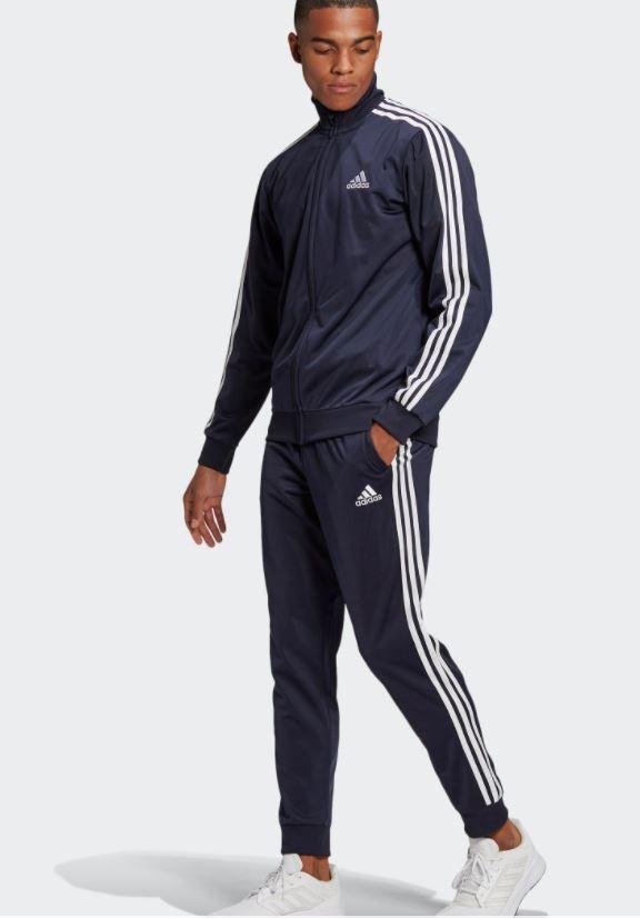 adidas Performance Trainingsanzug »PRIMEGREEN ESSENTIALS 3-STREIFEN«