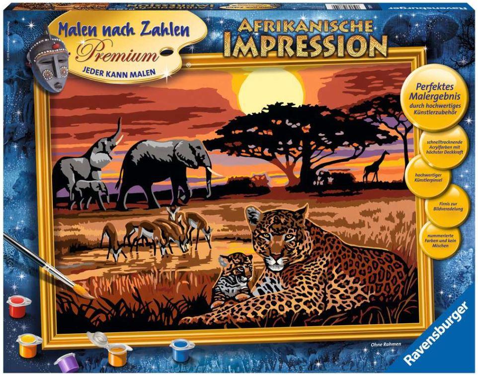 Malen nach Zahlen 28819 - Afrikanische Impression