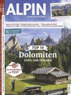 Halbjahresabo (6 Ausgaben) ALPIN für 36,60€ und dazu als Prämie 30€ Amazon Gutschein erhalten
