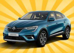 12 Monate Testleasing für Gewerbekunden: Renault Arkana Intens TCe 140 EDC Automatik für 94,01€ mtl.