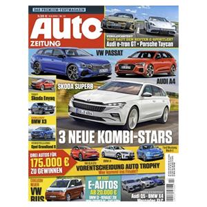 Jahresabo (26 Ausgaben) Auto ZEITUNG für 97,50€ – als Prämie: 95€ Amazon-Gutschein