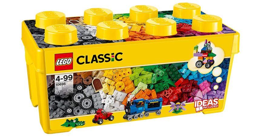 LEGO 10696 Classic Mittelgroße Bausteine-Box für nur 19,90€ bei Prime-Versand