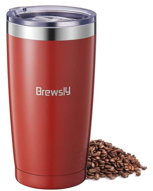 Brewsly Reise Thermobecher (900ml, Edelstahl, BPA frei) für nur 7,99€