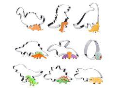 9er Set Pukitt Dinosaurier Ausstechformen für 6,49€