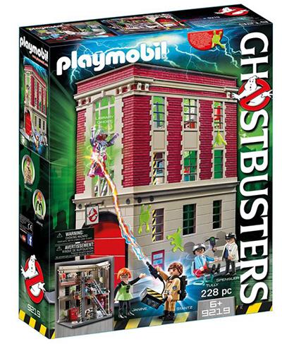Playmobil Ghostbusters 9219 Feuerwache (ab 6 Jahren) für nur 43,99€ (statt 64€)