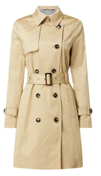 Jake*s Collection Trenchcoat mit Stretch-Anteil