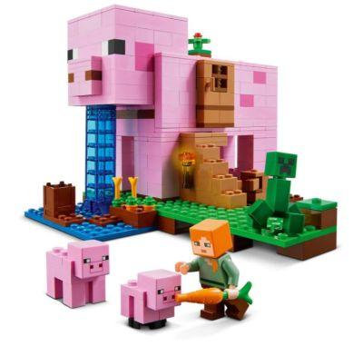 Lego 21170 Minecraft Das Schweinehaus für nur 31,99 Euro inkl. Versand