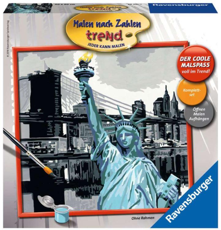 Malen nach Zahlen 28461 - New York