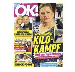"""Halbjahresabo mit 26 Ausgaben der Zeitschrift """"OK!"""" für 72,80€ – als Prämie: 70€ Amazon Gutschein"""