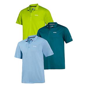 3er-Pack Regatta Herren Polo-Shirts für nur 36,99€ inkl. Versand