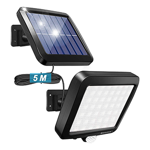 BENMA Solar LED Fluter mit Bewegungsmelder für nur 11,20€