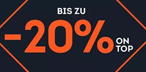 Bis zu 20% Rabatt auf Wander-Topseller im SportScheck Onlineshop
