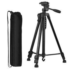 Andoer D7355 135cm Kamera Stativ aus Aluminium für Smartphones, DSLR und Systemkameras für nur 11,97 Euro