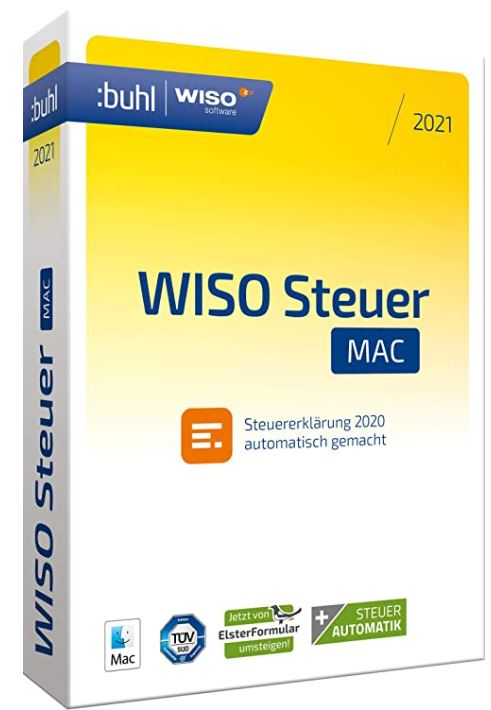 WISO Steuer-Sparbuch 2021 macOS (Digital Version)
