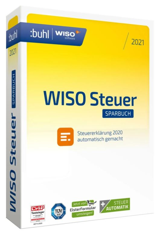 WISO Steuer-Sparbuch 2021 Windows (Digital Version)