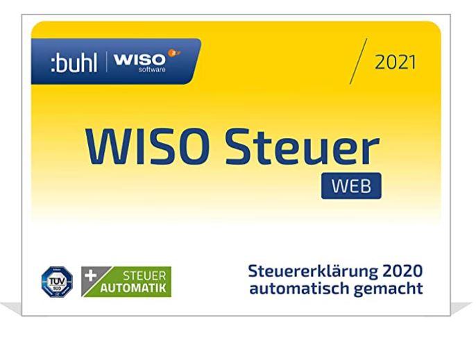 WISO Steuer-Web 2021 Mac (für Steuerjahr 2020) Mac Web Version