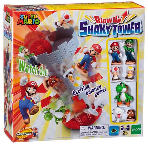 Super Mario Blow Up! Shaky Tower Spiel für nur 19,99€ inkl. Versand (statt 25€)