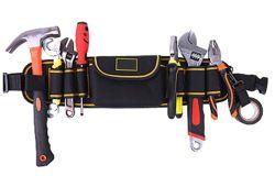 KKmoon JK-101 Werkzeug-Gürtel 16x 67cm für nur 15,64€
