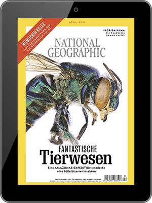 Jahresabo (12 Ausgaben) NATIONAL GEOGRAPHIC als Digital E-Paper für einmalig nur 5€ (statt 54,96€)