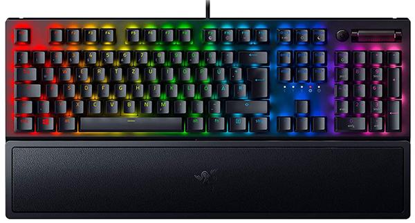 RAZER BlackWidow V3 Gaming Tastatur (Mechanisch, Razer Green) für nur 105€ inkl. Versand (statt 126€)